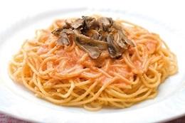 スパゲティ 焼きたらこと舞茸画像
